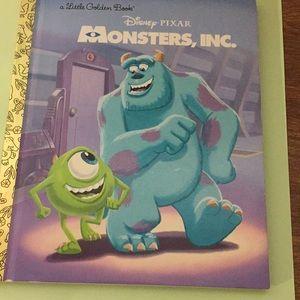 Little Golden Book Disney Pixar Monsters, Inc.